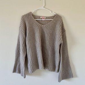 Nasty gal wide sleeve sweater